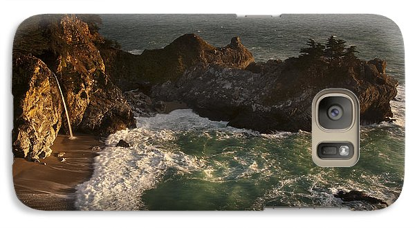 Galaxy Case featuring the photograph Mcway Falls 1 by Lee Kirchhevel