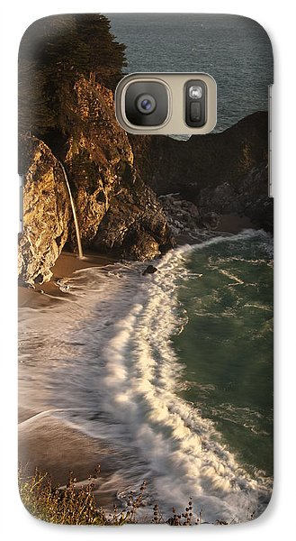 Galaxy Case featuring the photograph Mcway Falls 2 by Lee Kirchhevel