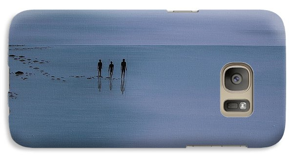 Galaxy Case featuring the painting Mdt 1.2 by Tim Mullaney