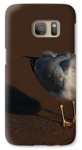 Galaxy Case featuring the photograph Me And My Shadow by Bob and Jan Shriner