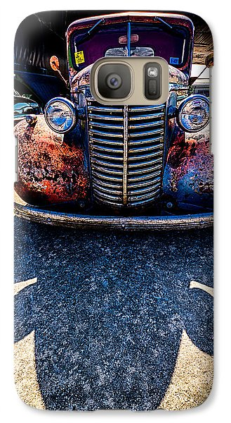 Galaxy Case featuring the photograph Me And My Shadow by Jay Stockhaus