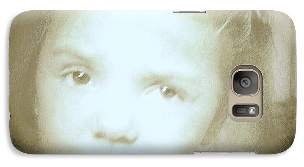 Galaxy Case featuring the photograph Me Too by Shirley Moravec