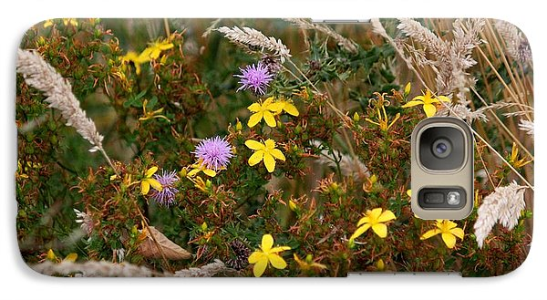 Galaxy Case featuring the photograph Meadow Bouquet by Erica Hanel