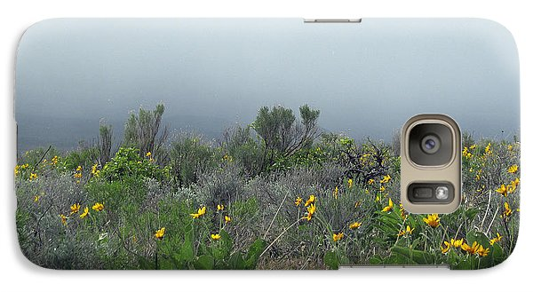 Galaxy Case featuring the photograph Meadow Fog by Jennifer Muller