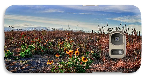 Galaxy Case featuring the photograph Meadow Of Wild Flowers by Eti Reid