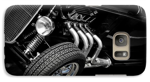 Vintage Car Galaxy Case featuring the photograph Mean Machine Classic by Aaron Berg