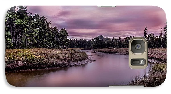 Galaxy Case featuring the photograph Meandering Inlet by Steve Zimic