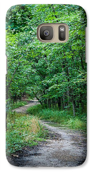 Galaxy Case featuring the photograph Meandering Path by Wayne Meyer