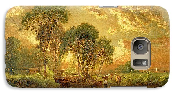 Landscapes Galaxy S7 Case - Medfield Massachusetts by Inness