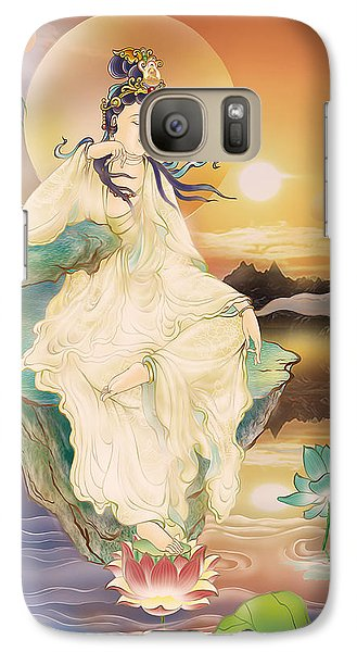 Galaxy Case featuring the photograph Medicine-giving Kuan Yin by Lanjee Chee
