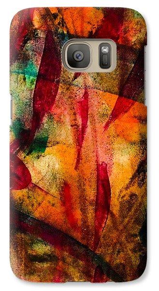 Galaxy Case featuring the painting Medicine Man by  Heidi Scott