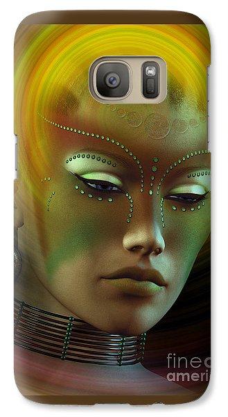 Galaxy Case featuring the digital art Medicine Woman B by Shadowlea Is