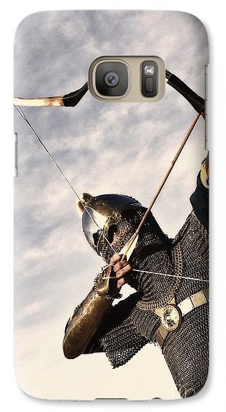 Medieval Archer Galaxy Case by Holly Martin