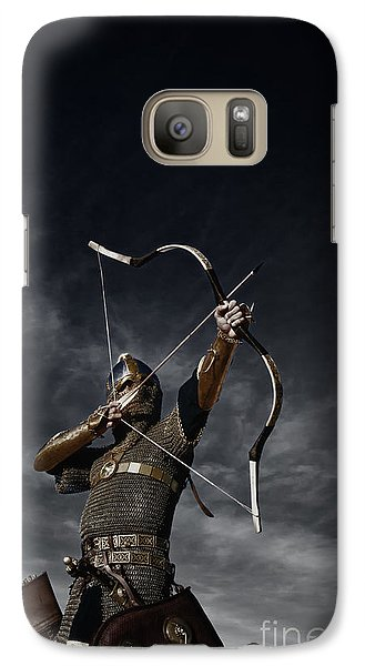 Medieval Archer II Galaxy Case by Holly Martin