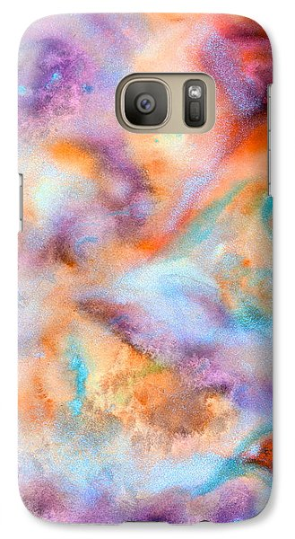 Galaxy Case featuring the painting Meditation by  Heidi Scott