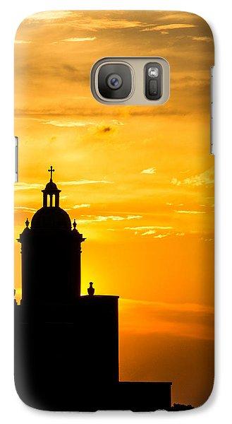 Meditative Sunset Galaxy S7 Case
