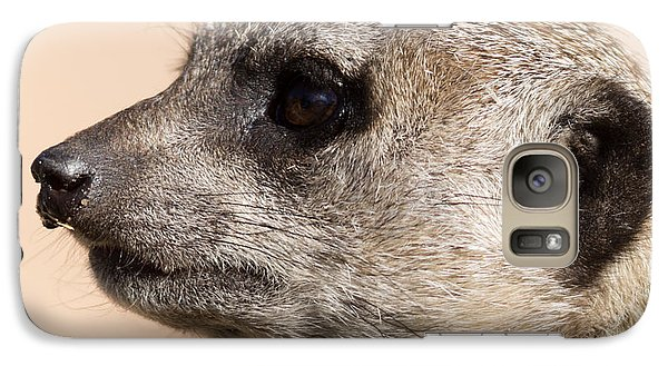 Meerkat Mug Shot Galaxy S7 Case by Ernie Echols