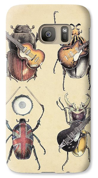 Meet The Beetles Galaxy S7 Case by Eric Fan