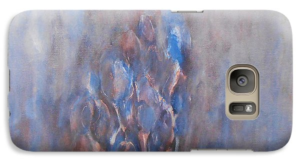 Galaxy Case featuring the painting Melancholy by Jane  See