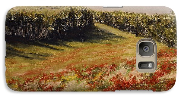 Galaxy Case featuring the painting Melkow Trail  by Stanza Widen