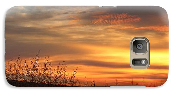 Galaxy Case featuring the photograph Mellow Sunrise by Lynn Hopwood