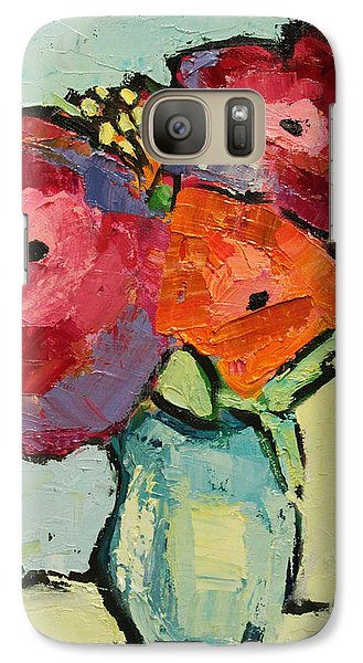 Galaxy Case featuring the painting Melody Of Love by Becky Kim