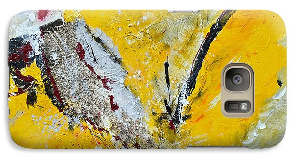 Galaxy Case featuring the painting Melody Of Passion by Ismeta Gruenwald