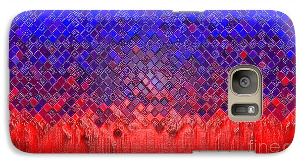 Galaxy Case featuring the digital art Meltdown by Cristophers Dream Artistry