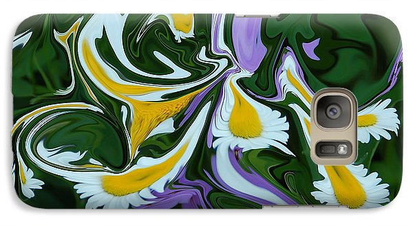 Galaxy Case featuring the photograph Melting Daisies by Aimee L Maher Photography and Art Visit ALMGallerydotcom
