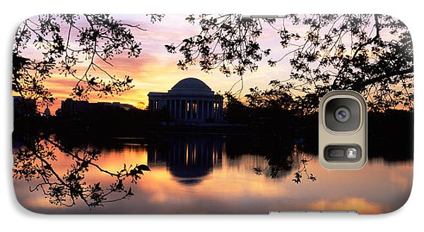 Memorial At The Waterfront, Jefferson Galaxy S7 Case by Panoramic Images