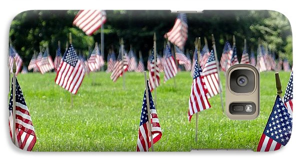 Galaxy Case featuring the photograph Memorial Day by Ed Weidman