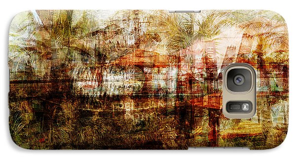 Galaxy Case featuring the mixed media Memories #1 by Sandy MacGowan
