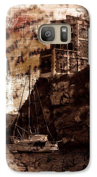 Galaxy Case featuring the photograph Memories By The Sea by Pedro Cardona