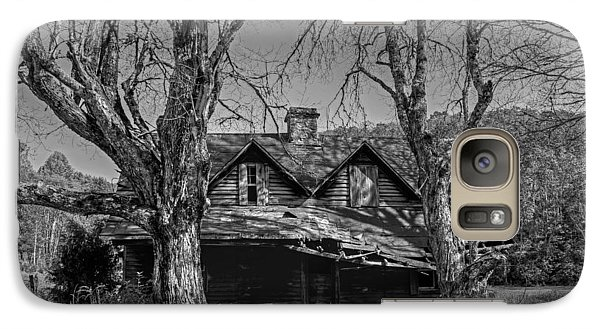 Galaxy Case featuring the photograph Memories Of Ages Past B W by HH Photography of Florida