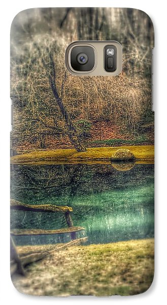 Galaxy Case featuring the photograph Memories Revisited by Steven Huszar