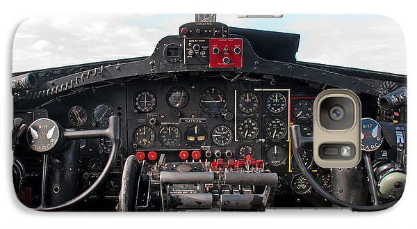 Galaxy Case featuring the photograph Memphis Belle Cockpit by John Black