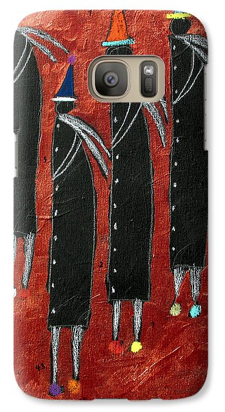 Galaxy Case featuring the painting Men Of Neith by Clarity Artists