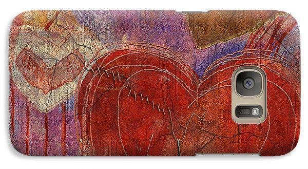 Galaxy Case featuring the digital art Mending A Broken Heart by Arline Wagner