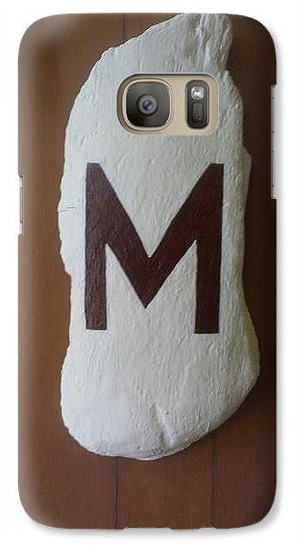 Galaxy Case featuring the painting Menominee Maroons by Jonathon Hansen