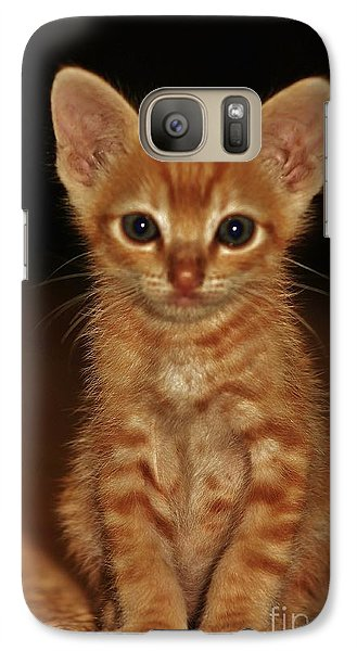 Galaxy Case featuring the photograph Meow by Craig Wood