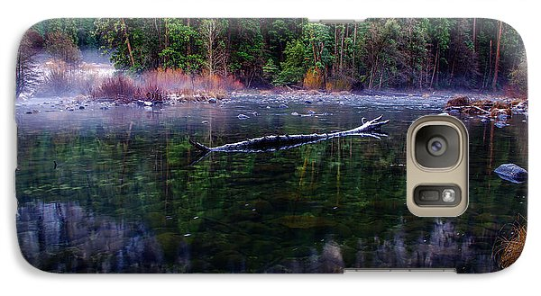 Merced River Riverscape Galaxy S7 Case by Scott McGuire