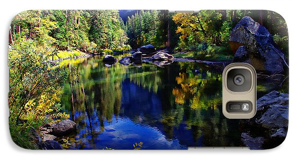 Merced River Yosemite National Park Galaxy S7 Case