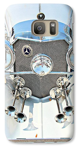 Vintage Car Galaxy Case featuring the photograph Mercedes Of Old  by Aaron Berg