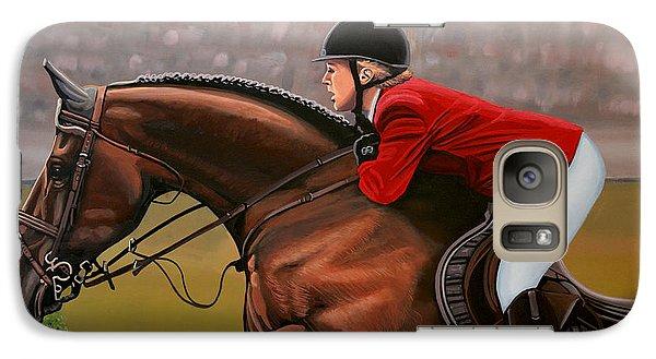 Horse Galaxy S7 Case - Meredith Michaels Beerbaum by Paul Meijering