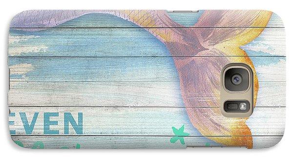 Mermaid Galaxy S7 Case - Mermaid Bath II by Elizabeth Medley