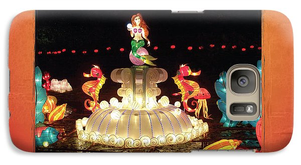 Galaxy Case featuring the photograph Mermaid by Cheryl McClure