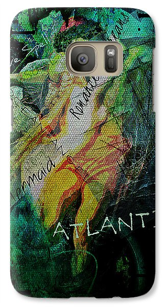 Galaxy Case featuring the digital art Mermaid Love Spell by Absinthe Art By Michelle LeAnn Scott