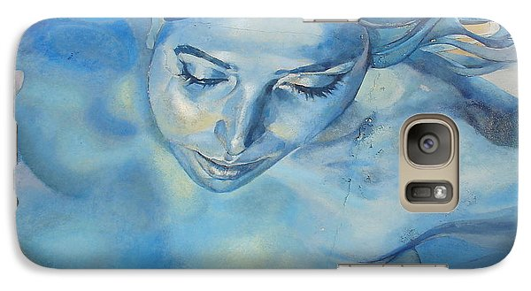 Galaxy Case featuring the photograph Mermaid by Ramona Johnston