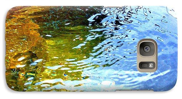 Galaxy Case featuring the photograph Mermaids Den by Deborah Moen