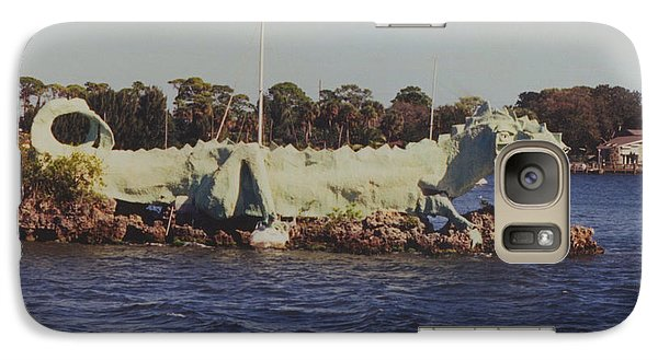 Galaxy Case featuring the photograph Merritt Island River Dragon by Bradford Martin